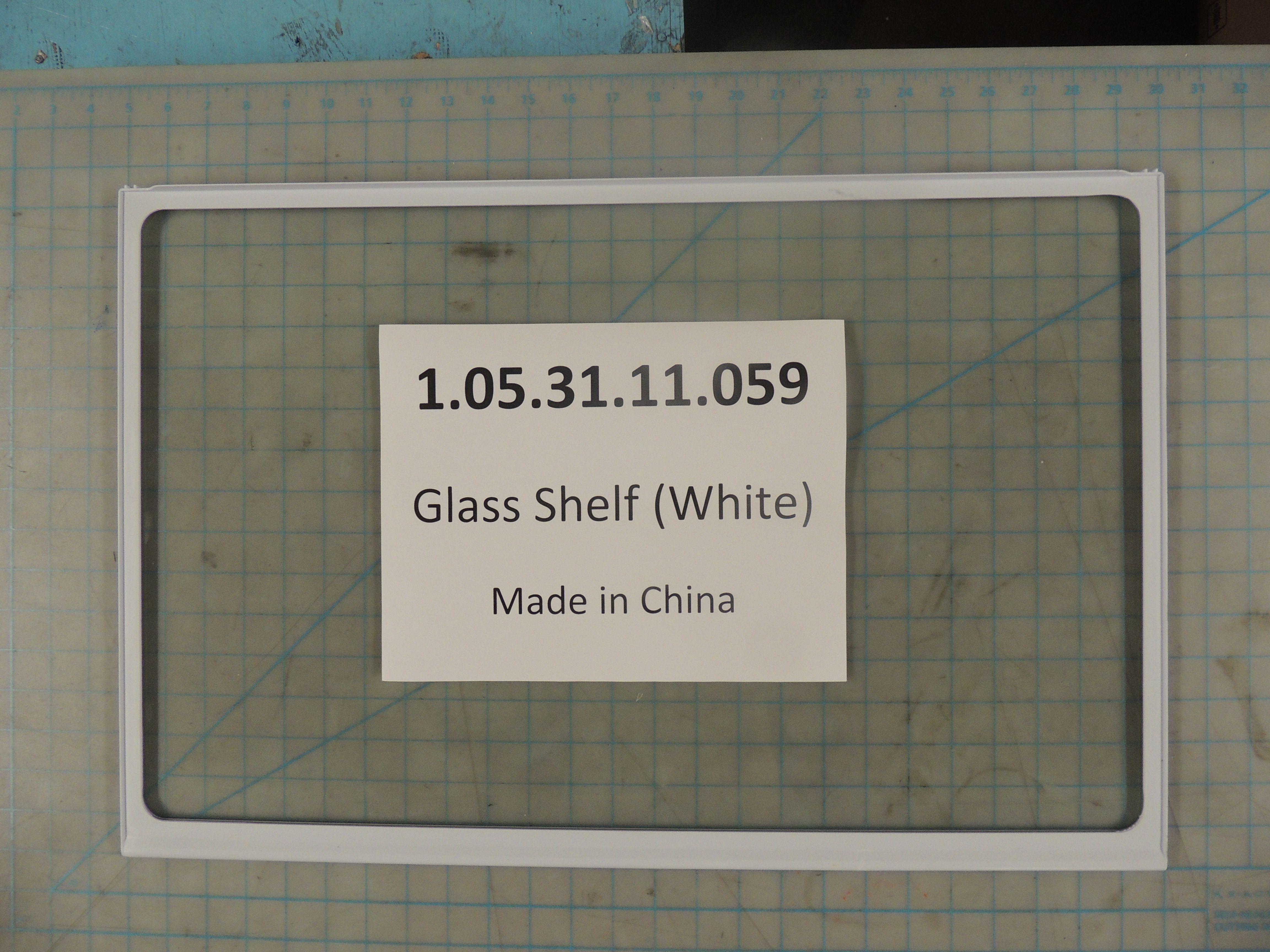 Glass Shelf (White)