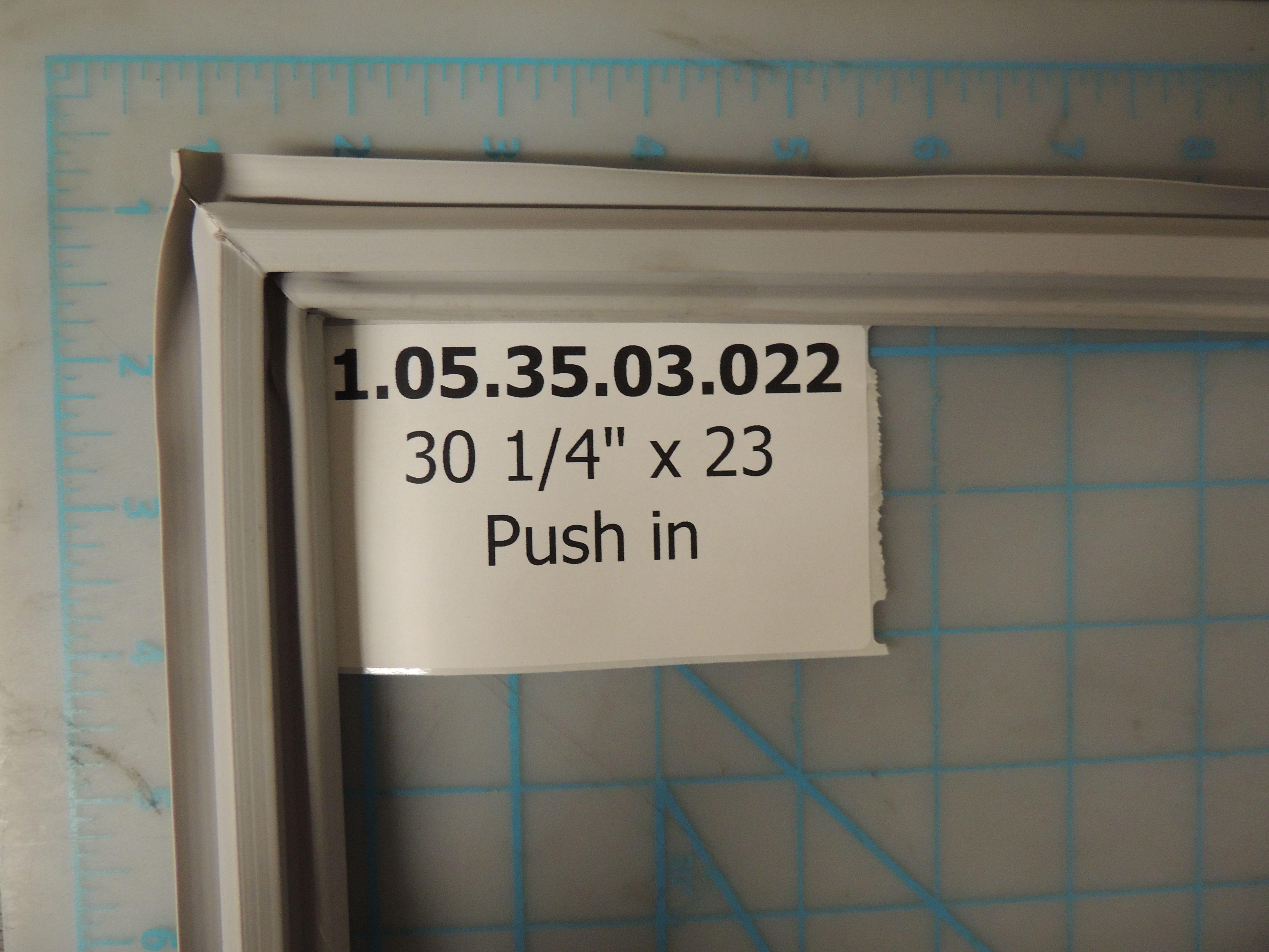 DAR604 DOOR GASKET LIGHT GREY