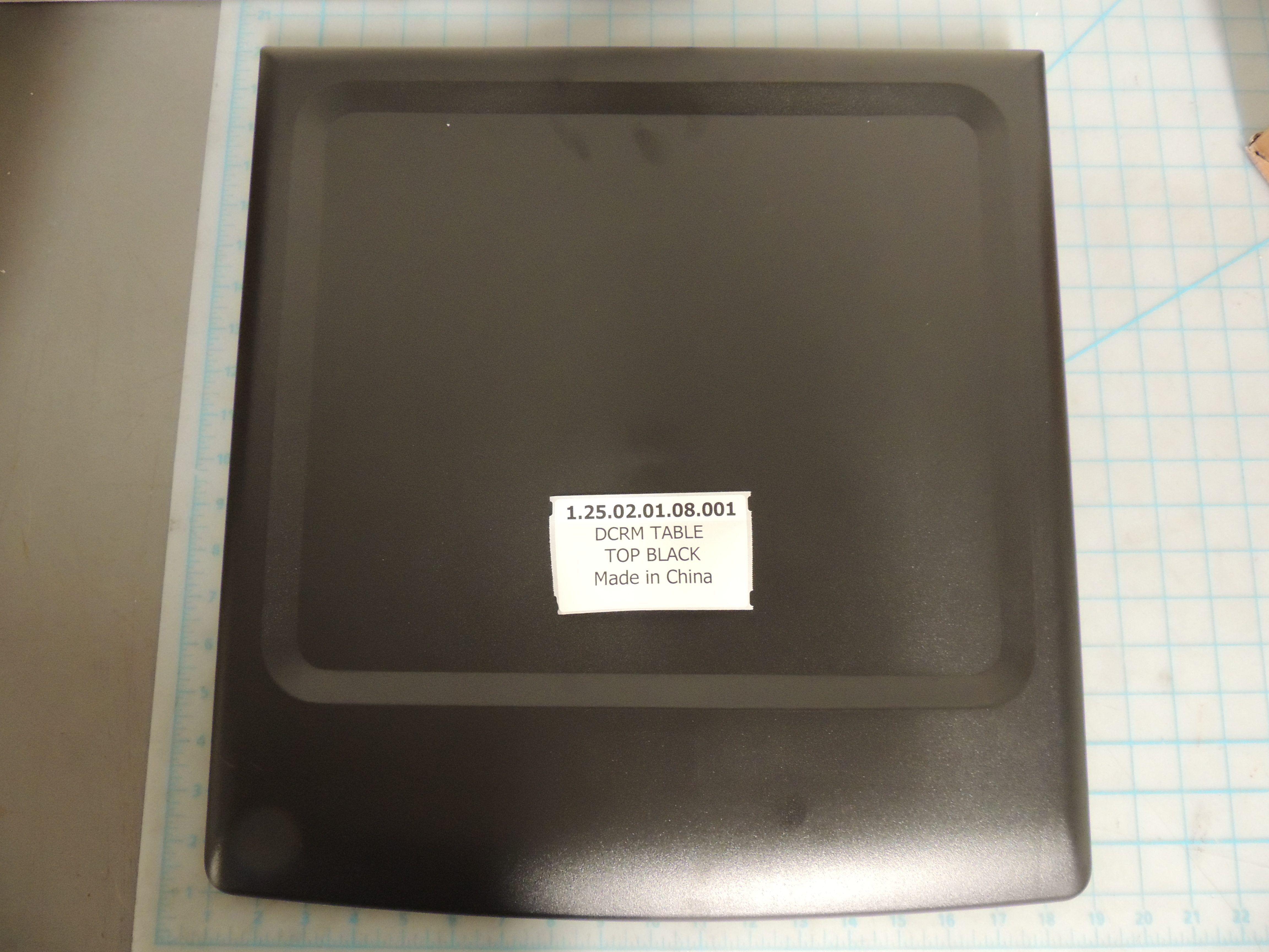 DCRM Table Top Black DAR017A2