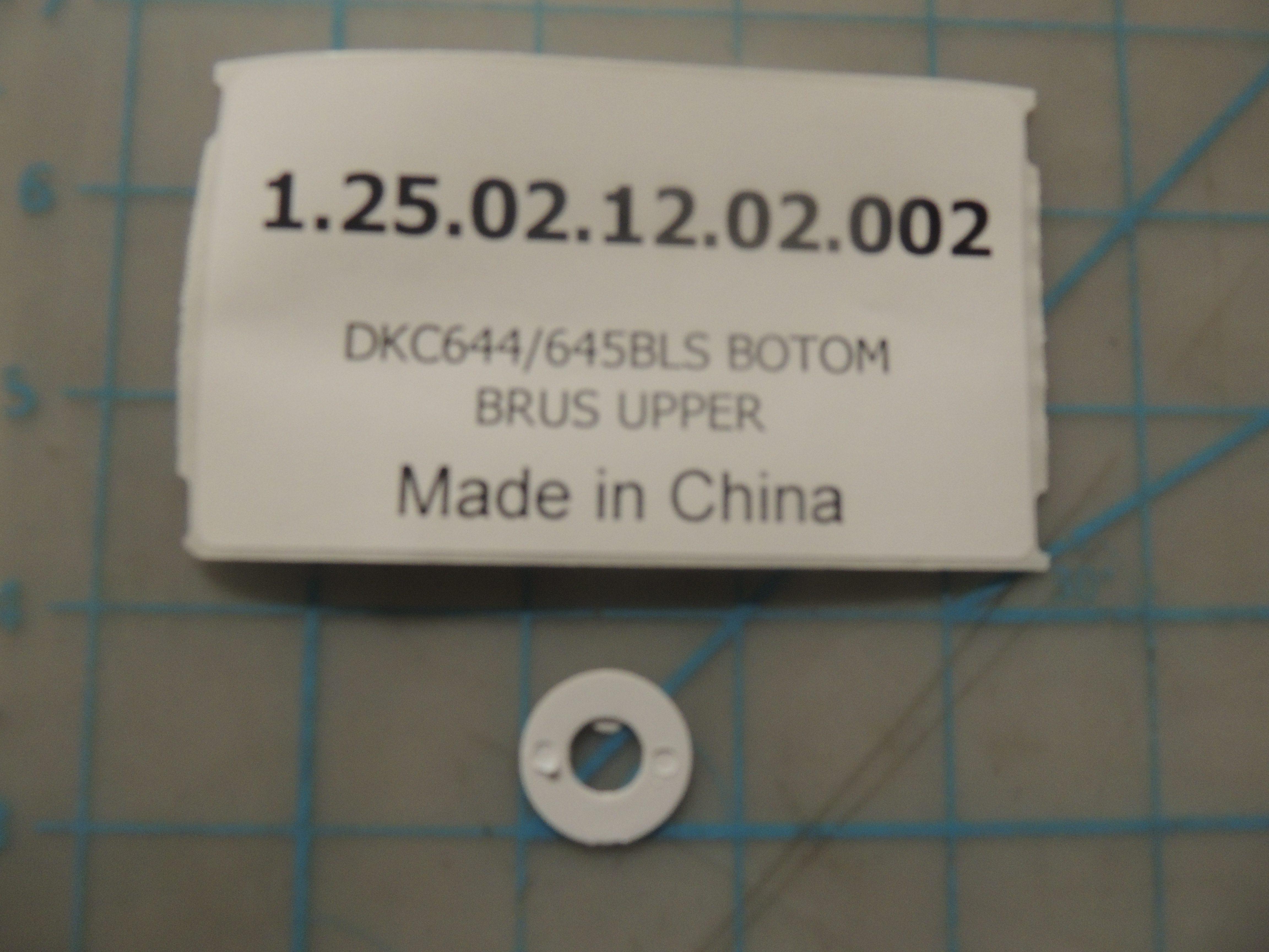 DKC644/645BLS BOTOM BRUS UPPER