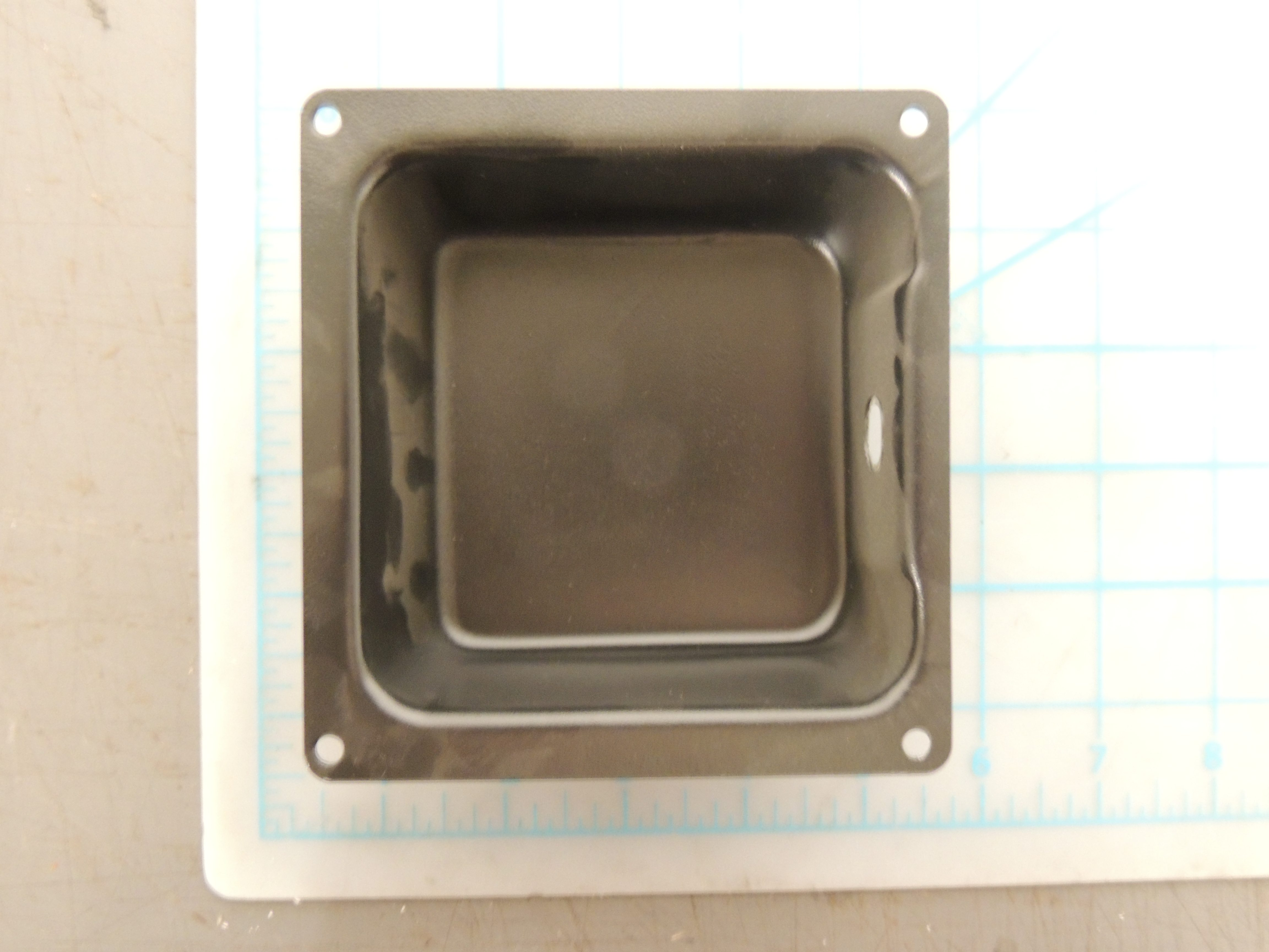 THERMOSTAT COVER BLACK