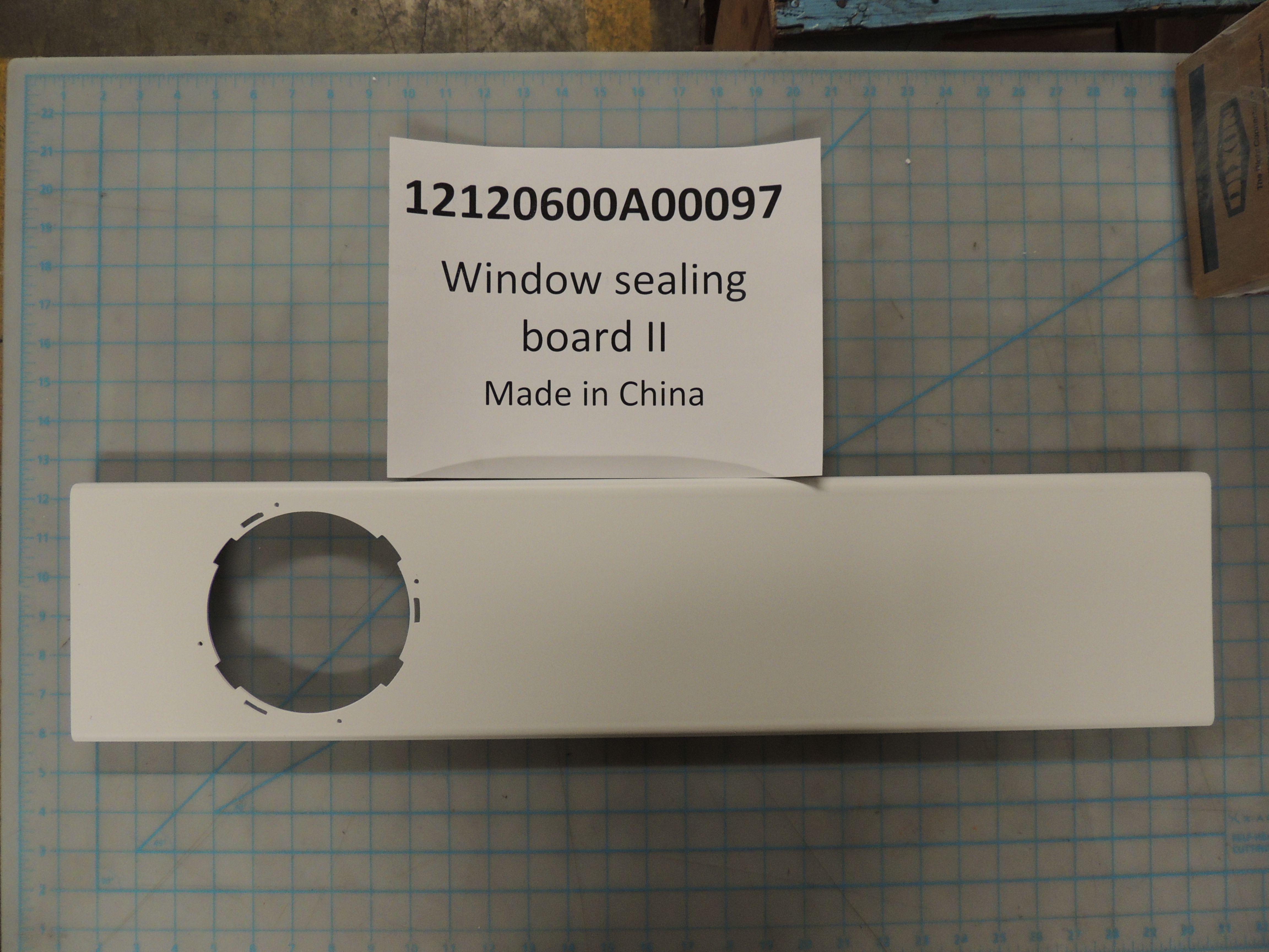 Window sealing board II