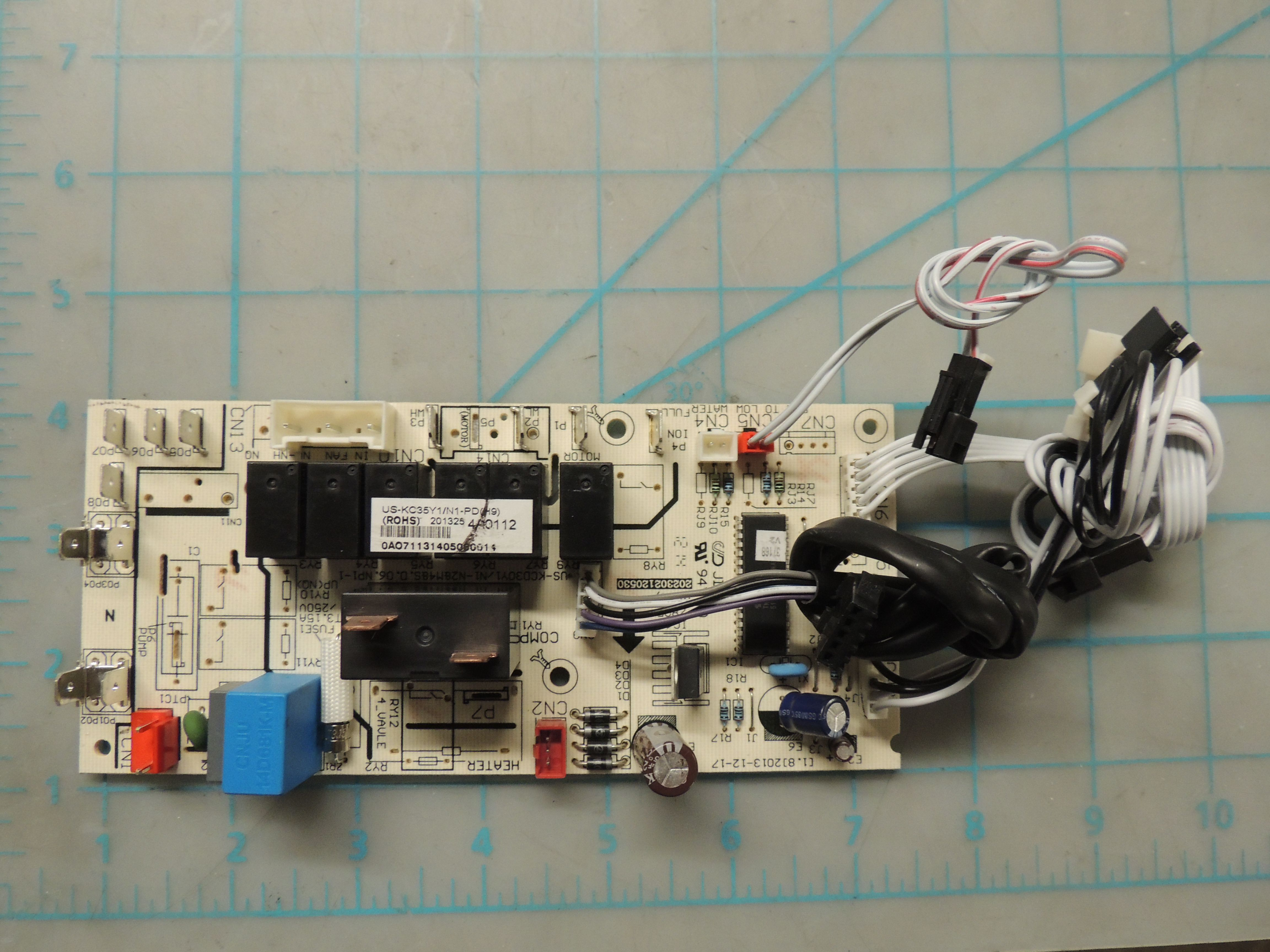 Main control board assembly