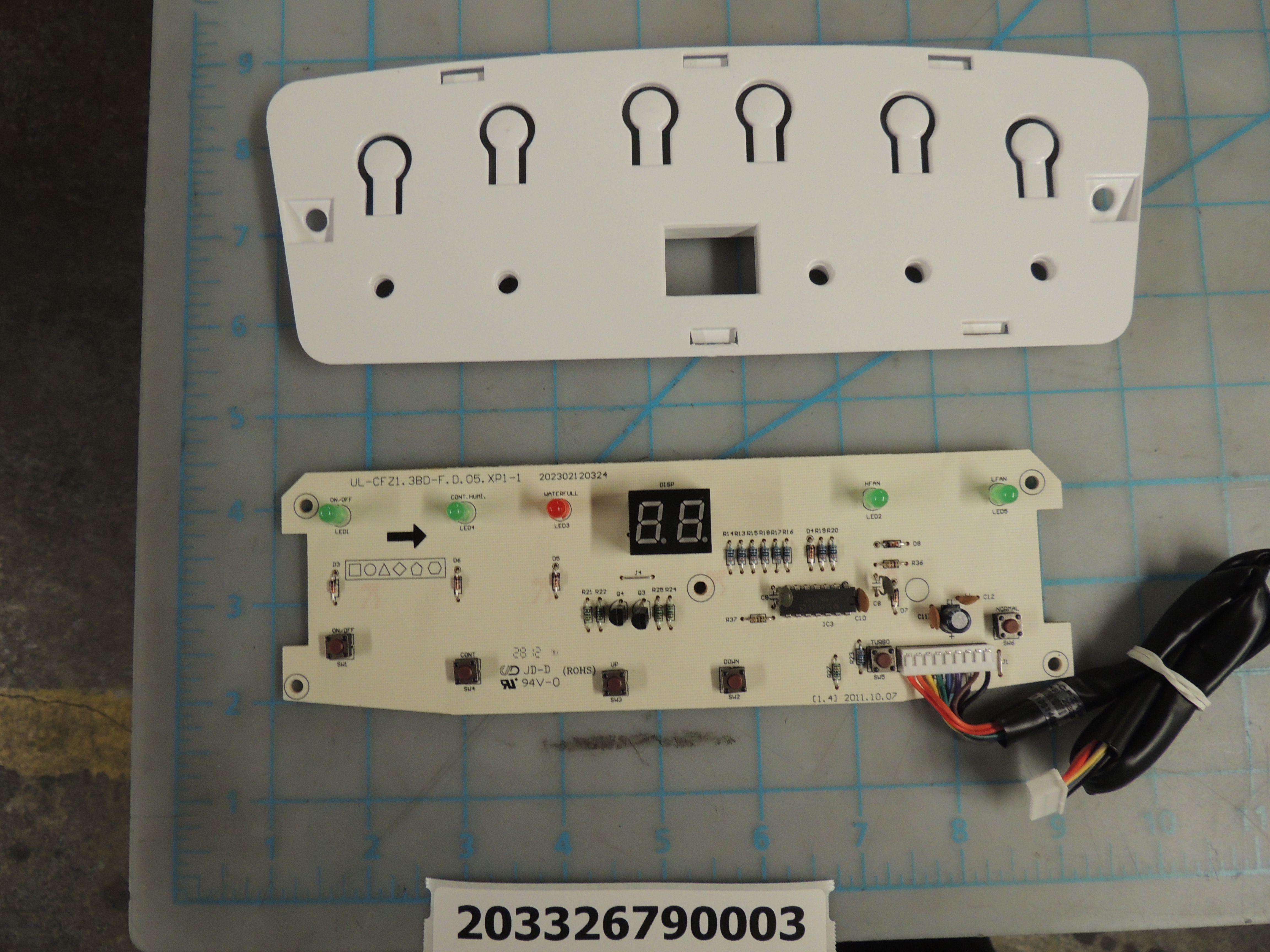 DDR6509EE DISP&CNTRL ASSY