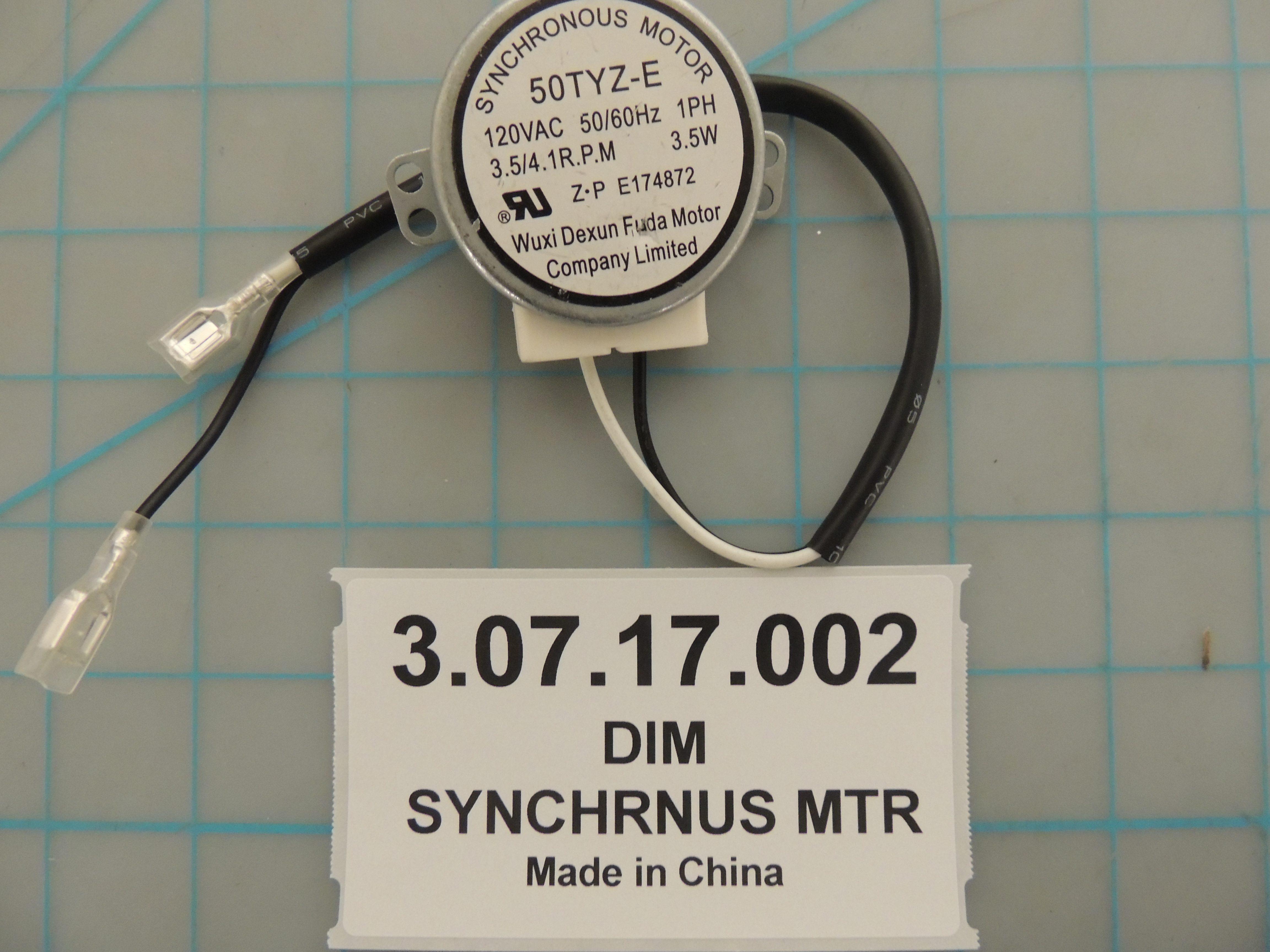 DIM SYNCHRNUS MTR