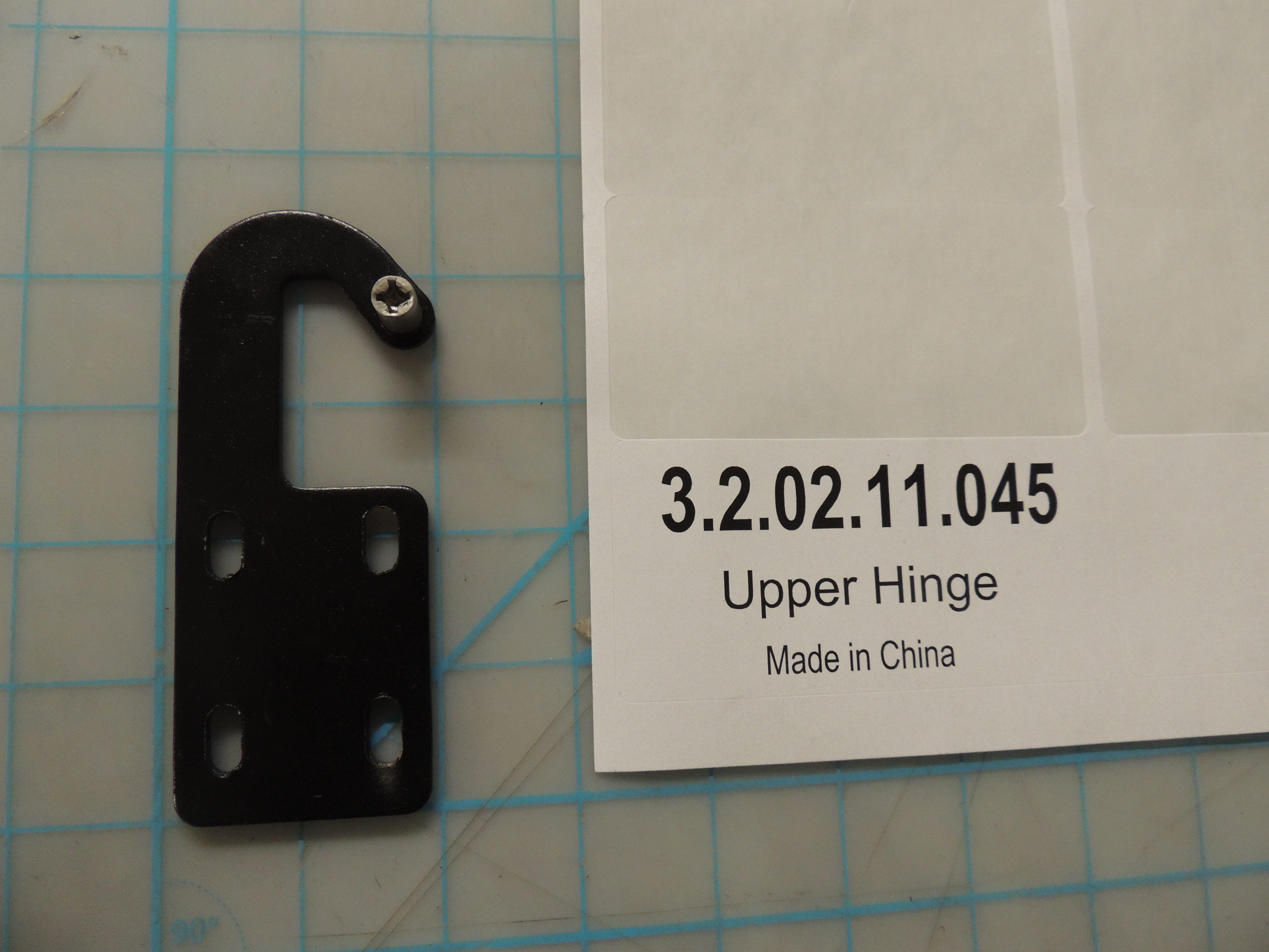 Upper Hinge