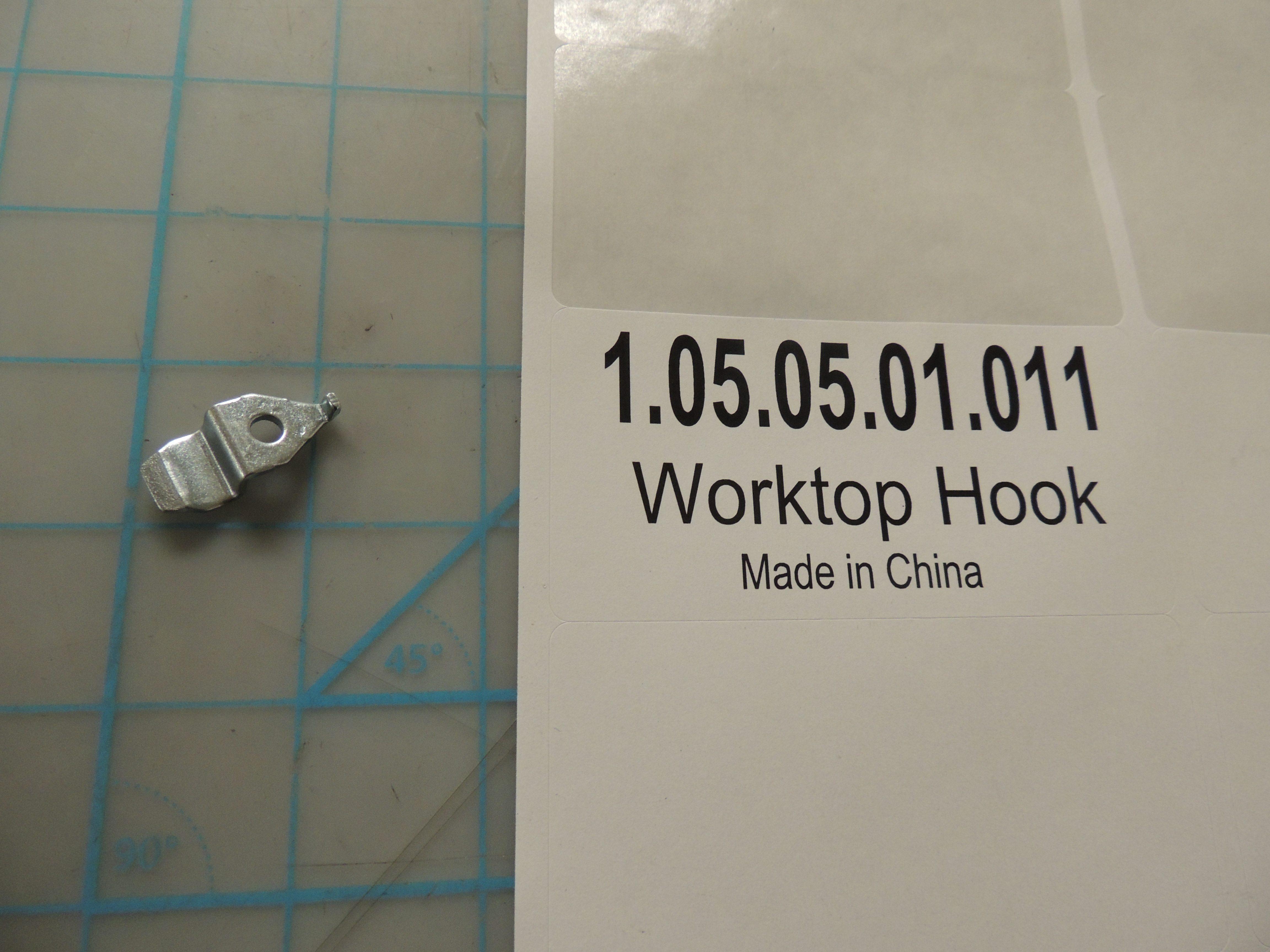 Worktop Hook