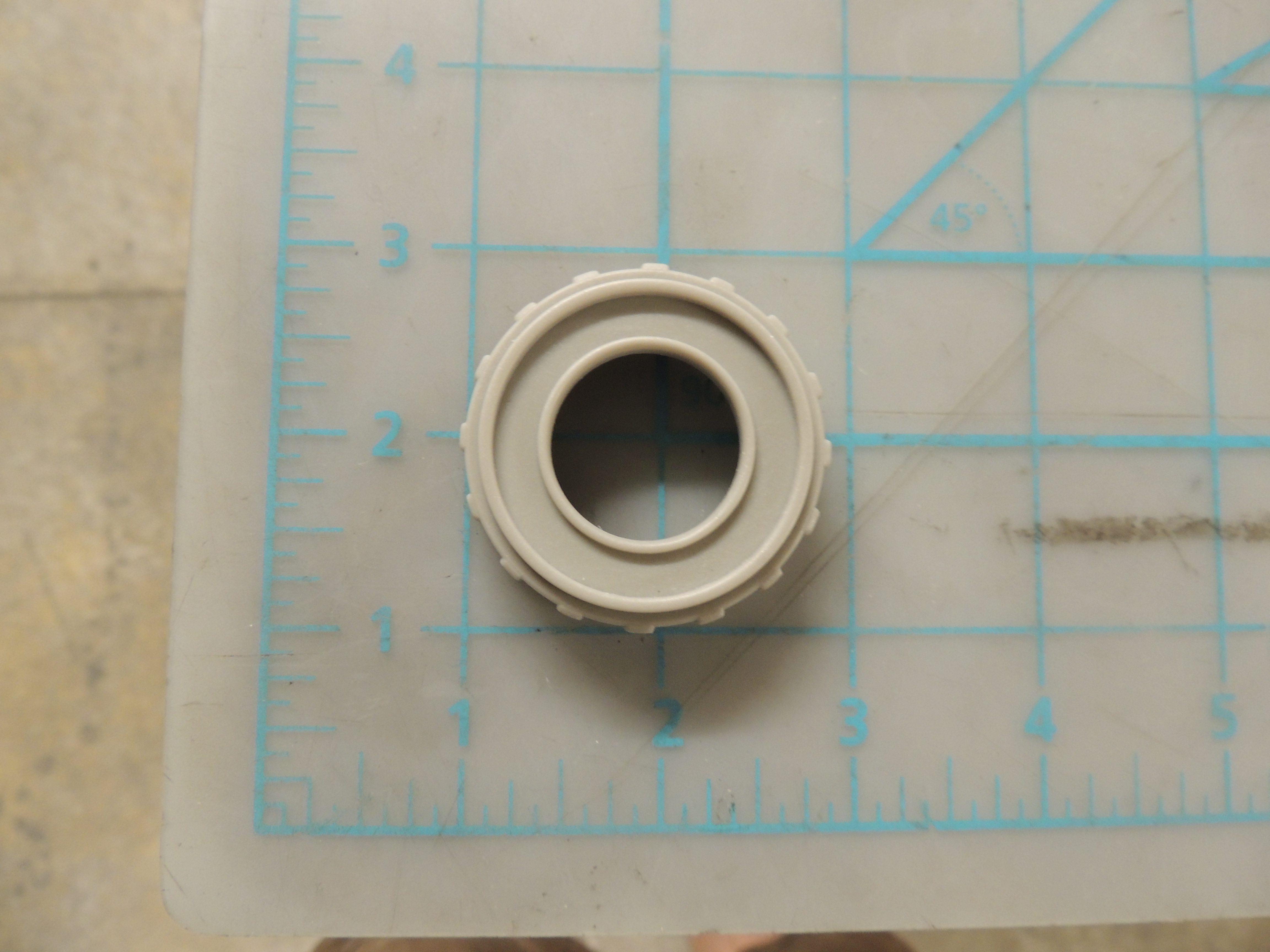 DDW496W SPRAY ARM LOCKNUT