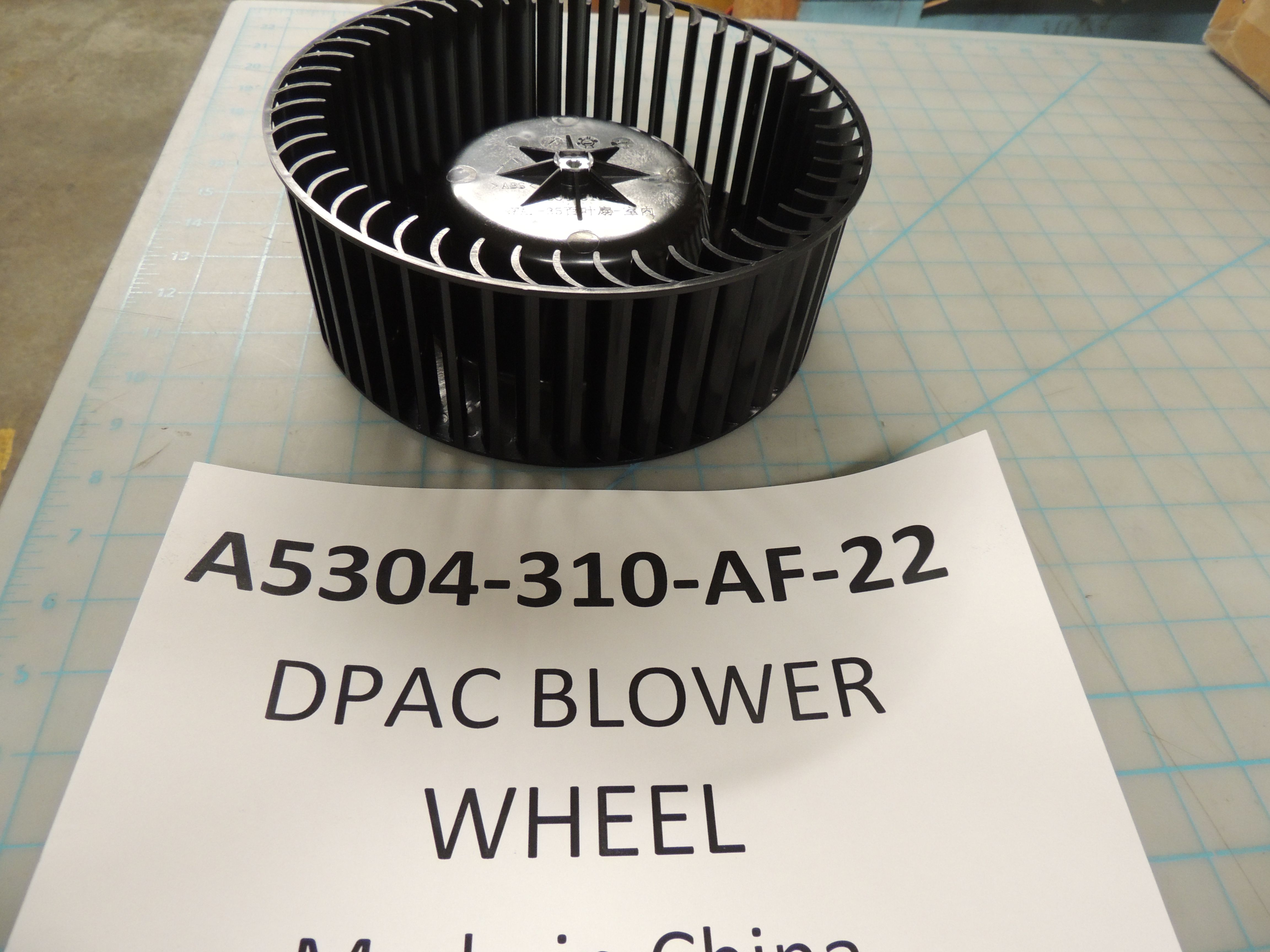 DPAC BLOWER WHEEL