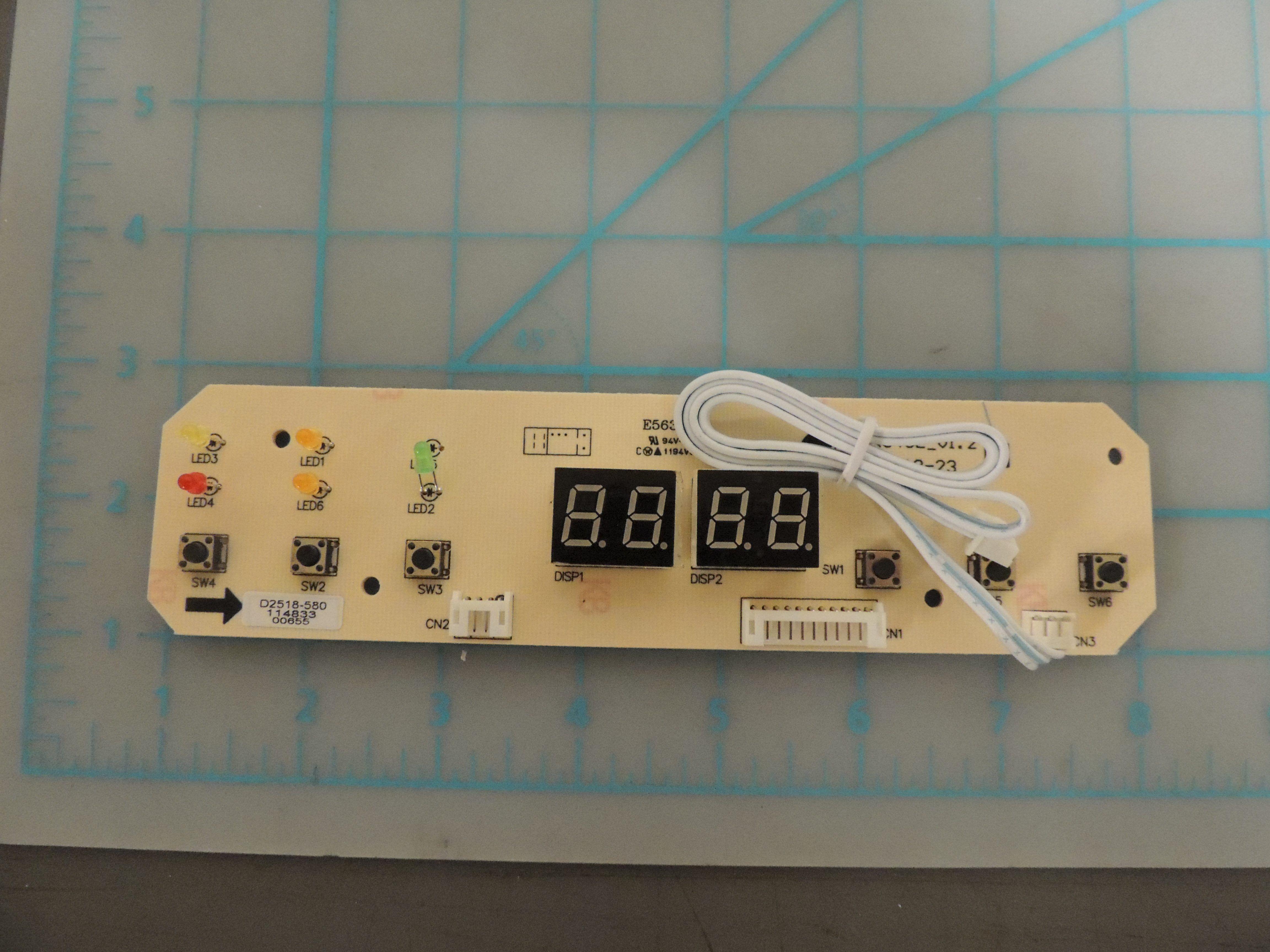 DDR6011R PC BOARD