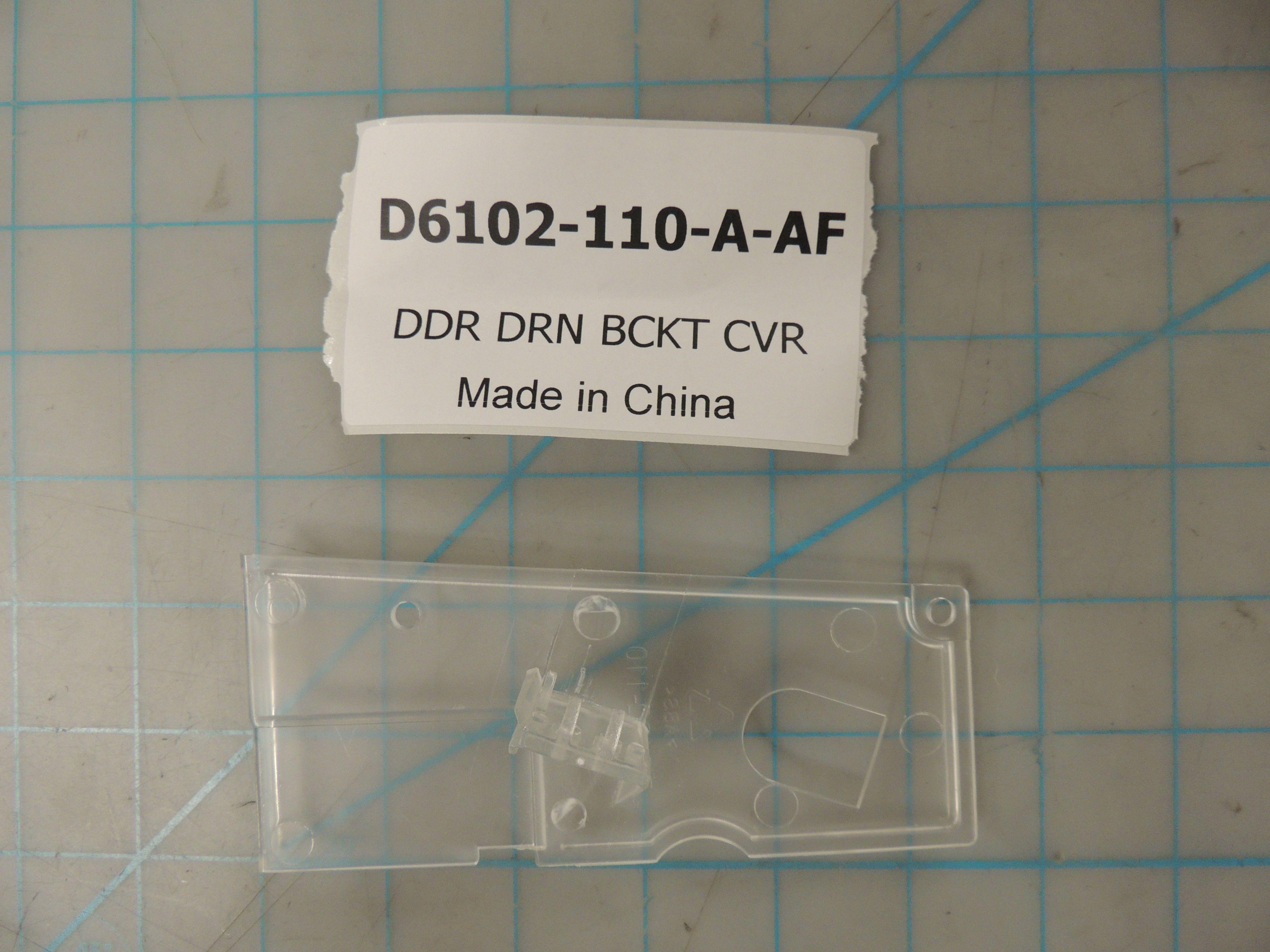 DDR DRN BCKT CVR
