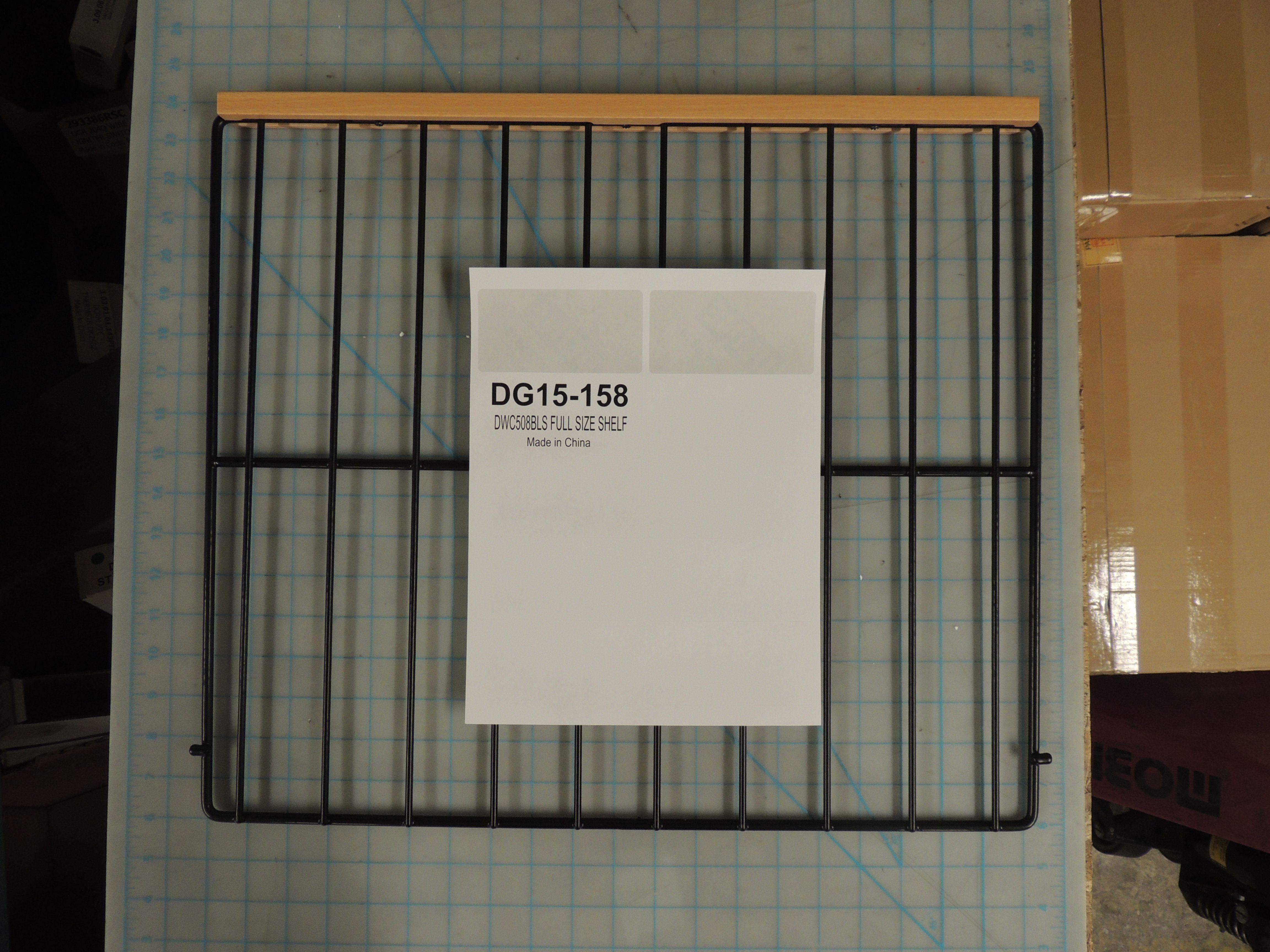 DWC508BLS FULL SIZE SHELF