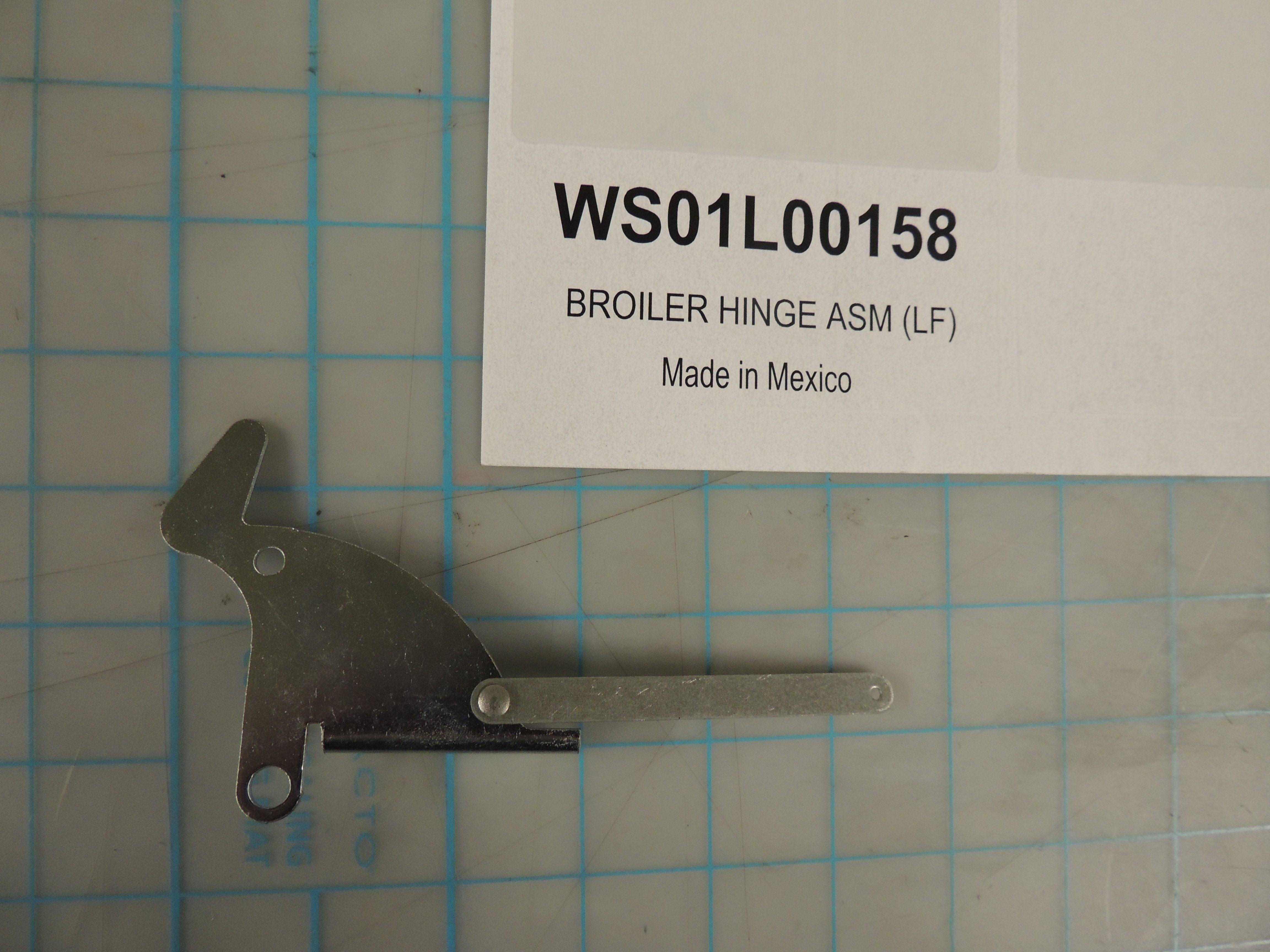 BROILER HINGE ASM (LF)