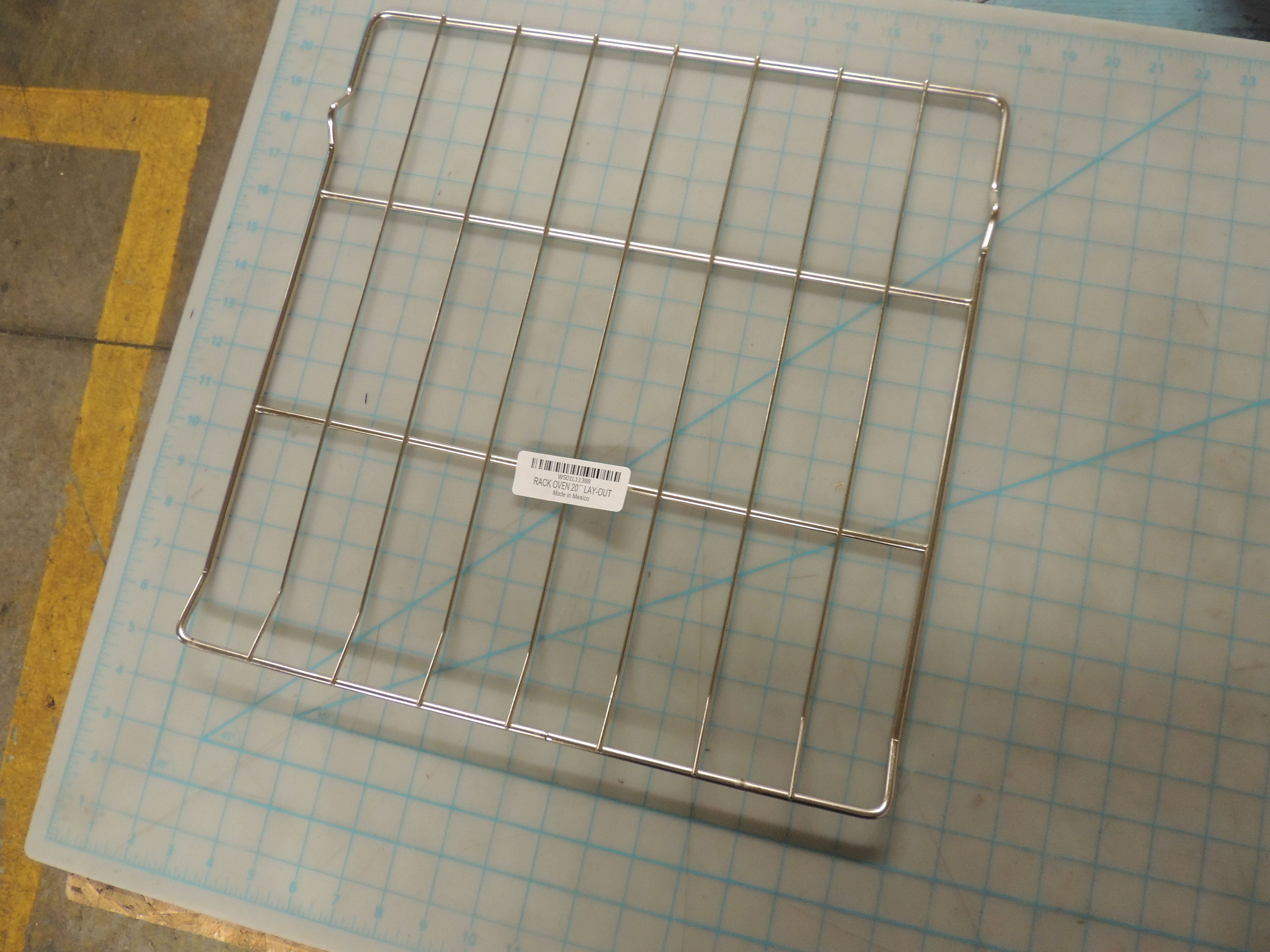 RACK OVEN 20´´ LAY-OUT