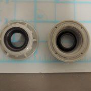 external pipe nut