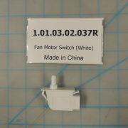 Fan Motor Switch (White)