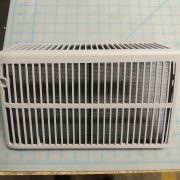 Outdoor air inlet grille asbly