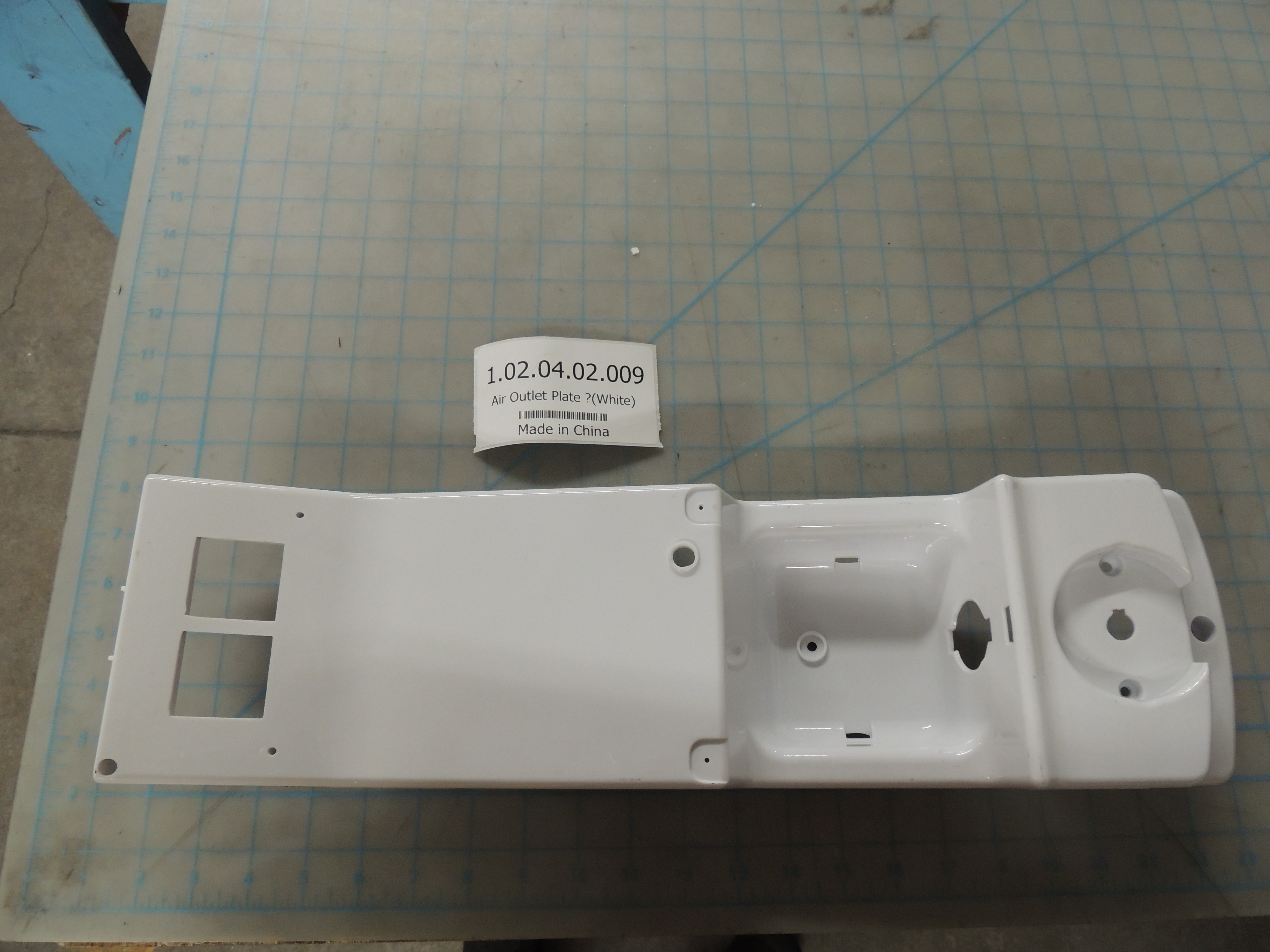 Air Outlet Plate ?(White)